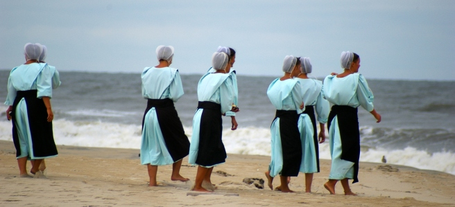 amish women on the beach.jpg